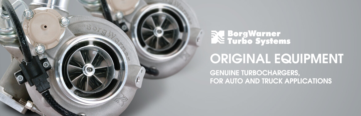 Borg-Warner Turbocharger Products