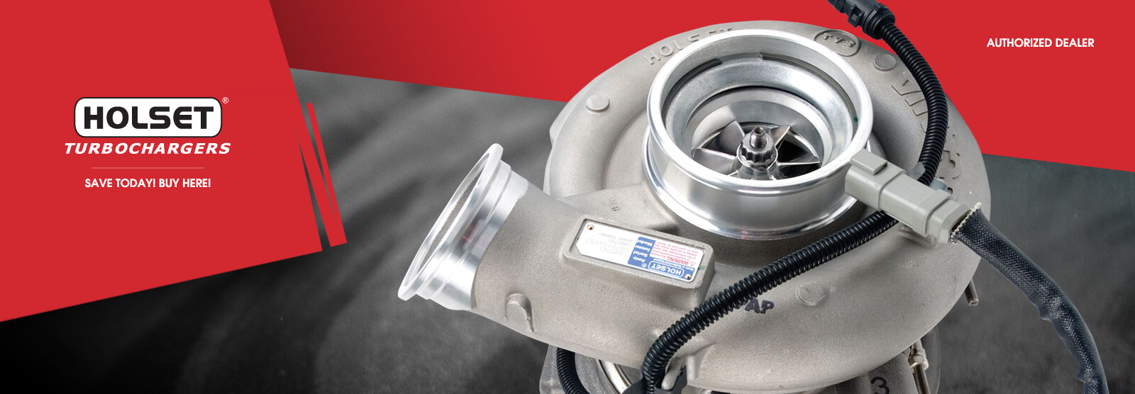 Holset Turbochargers, Authorized Dealer